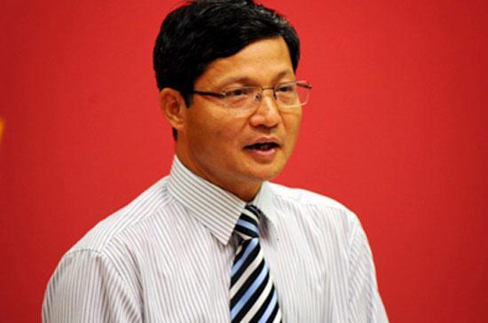 Chủ tịch Ủy ban Giám sát tài chính Quốc gia Vũ Viết Ngoạn.