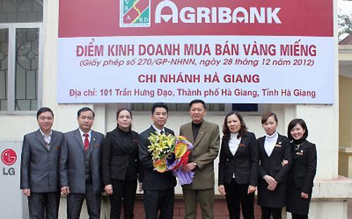 """Agribank phải lên Hà Giang mở điểm, thay vì """"xí chỗ"""" ở những địa bàn sôi động.<br>"""