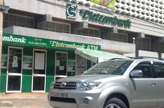 Một chi nhánh của Vietcombank.