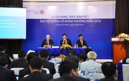 Năm 2015, Viet Capital Bank đã có những bước phát triển tích cực.