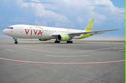 Viva Macau là hãng hàng không tư nhân giá rẻ quốc tế mới nhất tại châu Á, cung cấp mạng bay thẳng từ Macao đến Australia, Nhật Bản, Việt Nam và Indonesia.