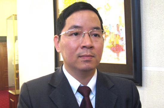 TS. Vũ Thành Tự Anh, Giám đốc nghiên cứu Chương trình Giảng dạy Kinh tế Fulbright - Ảnh: Anh Quân.