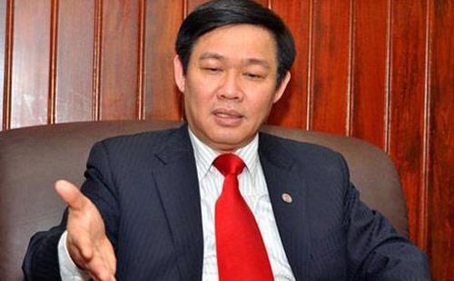 Ông Vương Đình Huệ, Trưởng ban Kinh tế Trung ương.