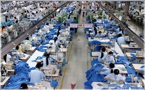 Nhìn một cách tổng quan chuỗi cung ứng của ngành dệt may từ khâu kéo sợi, dệt vải, may thì tốc độ tăng trưởng của ngành vẫn khá.