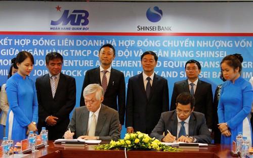 Dự án này không chỉ mang lại lợi ích cho MB và Shinsei Bank mà còn góp  phần xây dựng hệ thống tổ chức tín dụng tại Việt Nam lành mạnh và làm  bền vững hơn quan hệ hợp tác kinh tế tốt đẹp giữa Việt Nam và Nhật Bản.