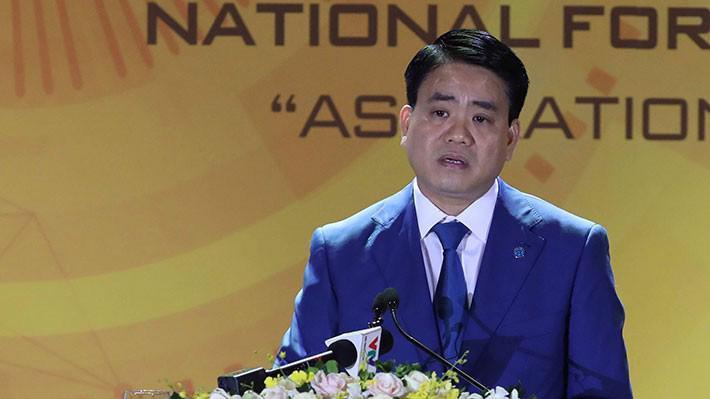 Chủ tịch UBND Tp.Hà Nội Nguyễn Đức Chung.