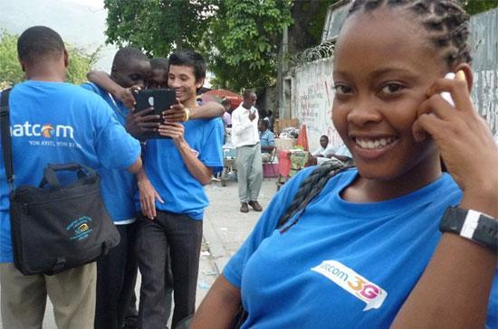 Liên doanh viễn thông Natcom đã bắt đầu thử nghiệm cung cấp dịch vụ tại Haiti.