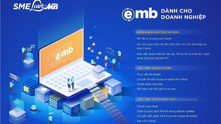 MB App Business & eMB new có nhiều tính năng ưu việt.