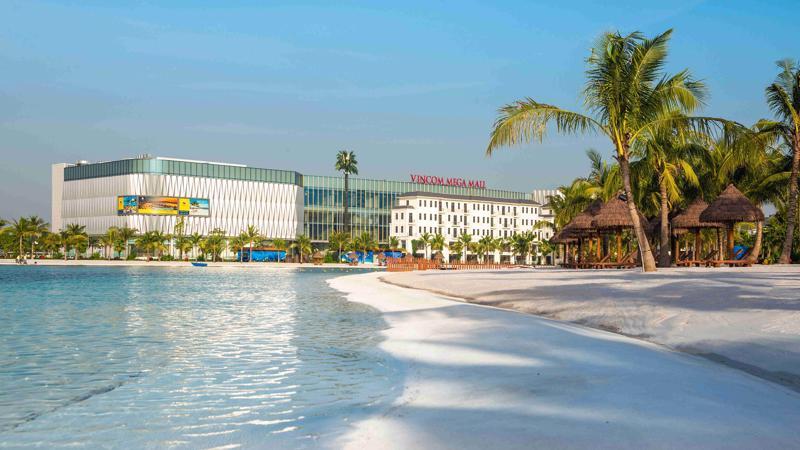 Văn phòng bán hàng Vinhomes tại trung tâm thương mại Vincom Mega Mall Ocean Park - điểm đến mới sôi động nhất phía Đông Hà Nội.