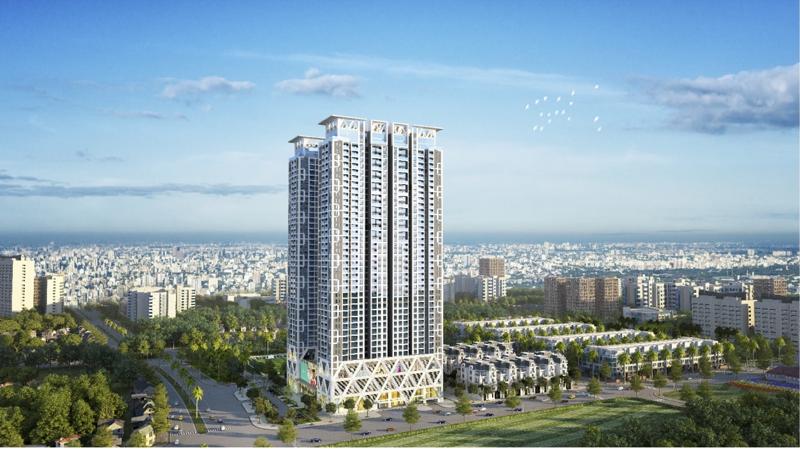"""The Zei, là dự án hiếm hoi tại Hà Nội khi mới mở bán đã gần kịch """"room"""" 30% khách ngoại."""