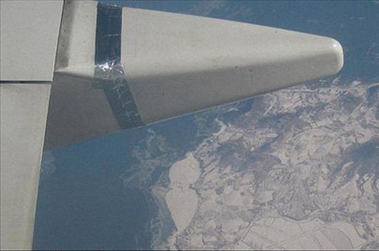 Phần được nối liên quan tới bộ phận kiểm soát chuyến bay - Ảnh: ChinaDaily.