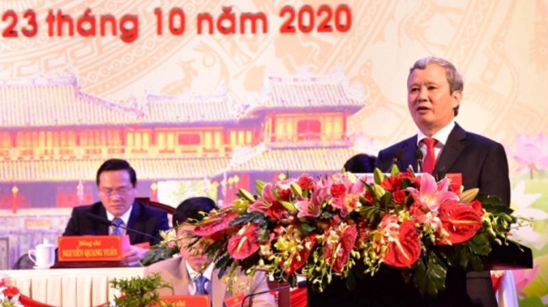 Ông Lê Trường Lưu tái cử Bí thư Tỉnh ủy Thừa Thiên Huế.