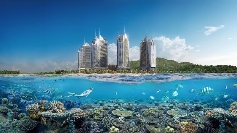 Sailing Bay Ninh Chữ - dự án mô hình ApartHotel của tập đoàn Crystal Bay được khởi dựng tại trung tâm khu du lịch quốc gia Ninh Chữ (Ninh Hải, Ninh Thuận).