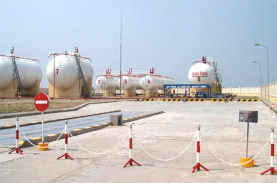 Công trình kho xăng dầu LPG Gò Dầu của PVX.