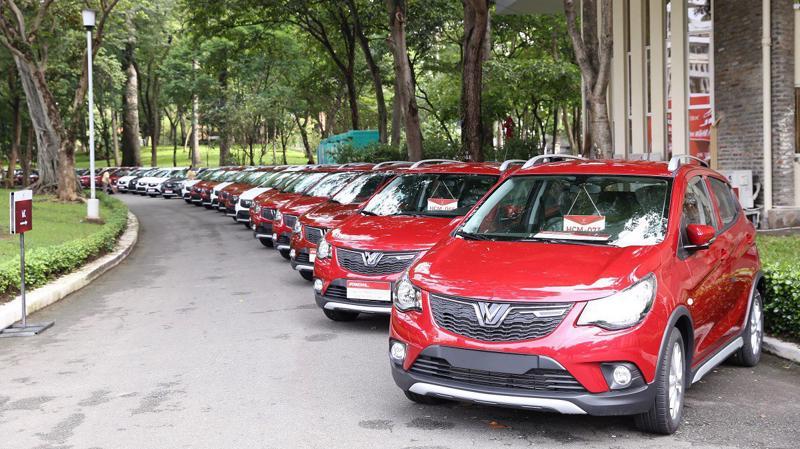 Fadil là thương hiệu ô tô đầu tiên của VinFast được bàn giao đến khách hàng, thuộc phân khúc xe đô thị đa dụng.