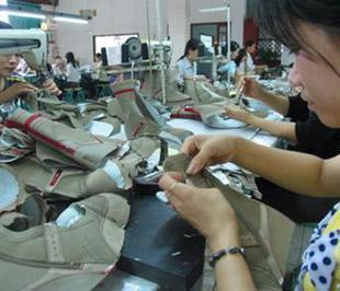 Trong 9 tháng 2008 qua, ngành da giày Việt Nam xuất khẩu đạt 3,65 tỷ USD.