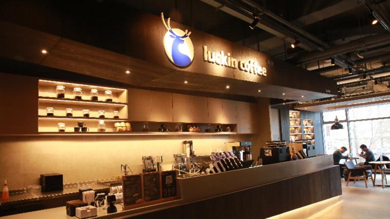 Luckin hiện có cửa hàng tại 13 thành phố tại Trung Quốc, phục vụ khoảng 1,3 triệu khách hàng - Ảnh: SCMP.