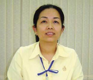 Bà Trần Thị Lệ Nga.