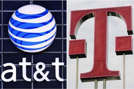 Nếu thương vụ mua lại T-Mobile thành công, AT&T sẽ trở thành hãng viễn thông lớn nhất ở Mỹ - Ảnh: AP.