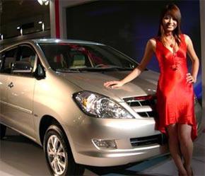 Một trong những mẫu xe tại MotorShow 2006 - Ảnh: VNN.