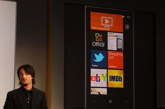 Windows Phone 7 chính thức ra mắt hôm 11/10.