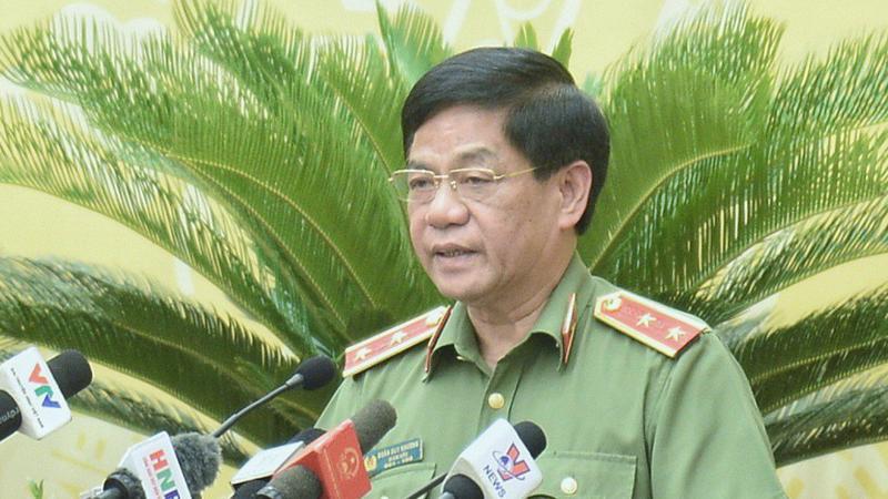 Giám đốc Công an thành phố Hà Nội Đoàn Duy Khương.