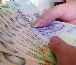 Lương tối thiểu sẽ được điều chỉnh trong năm 2009.