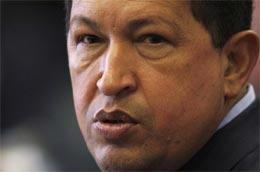 Tổng thống Hugo Chavez vừa tuyên bố chính phủ nước ông sẽ thành lập một thiết chế tài chính mới - Ảnh: Reuters.