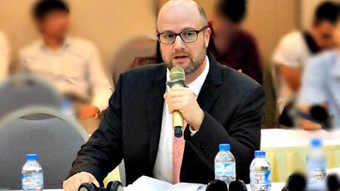 Ông Adam Sitkoff, Giám đốc điều hành Phòng Thương mại Hoa Kỳ tại Hà Nội.