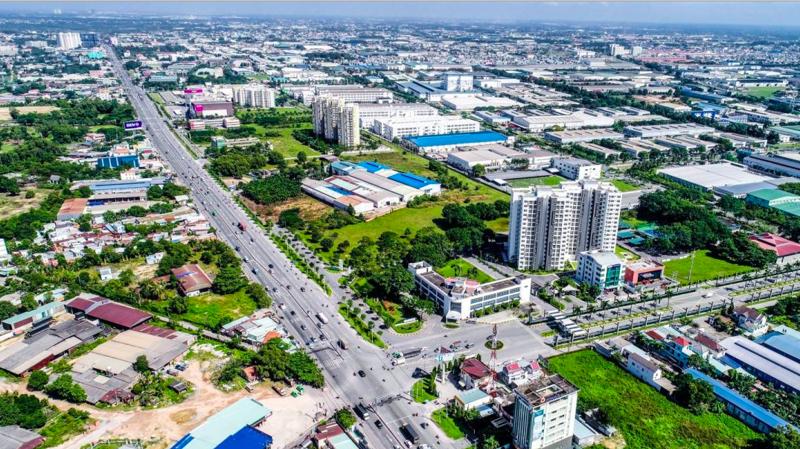 Thị trường căn hộ Thuận An, Dĩ An đang thiết lập mặt bằng giá mới.