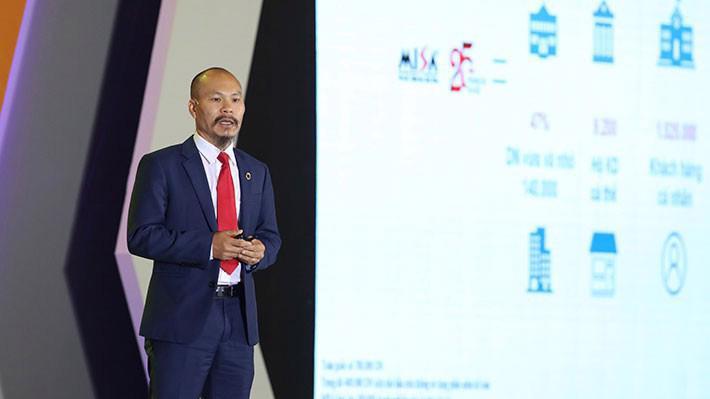 Ông Lữ Thành Long, Chủ tịch Công ty MISA.