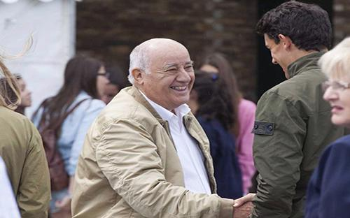 Amancio Ortega - ông chủ thương hiệu thời trang Zara - Ảnh: Getty Images.