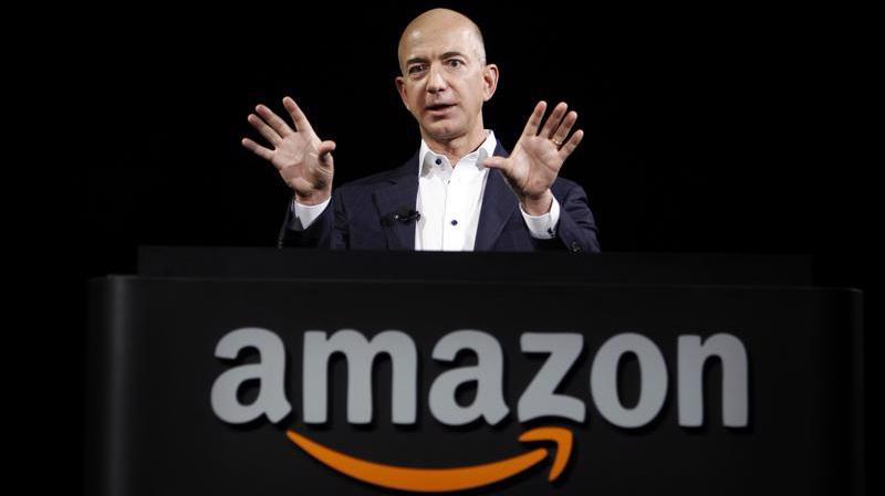 Jeff Bezos, người sáng lập Amazon - Ảnh: Getty Images