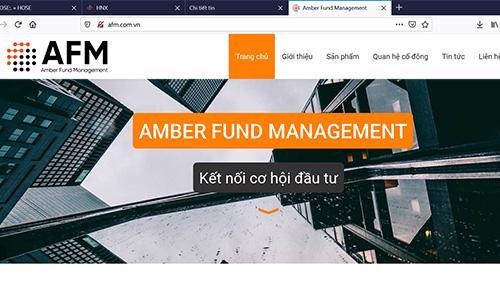 Quản lý quỹ Amber.