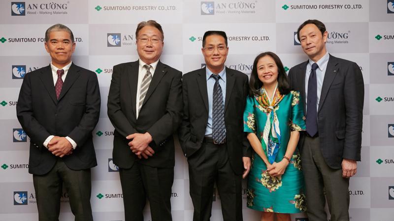Tại sự kiện, ông Masami Kitahashi, CEO Tập đoàn Sumitomo Forestry tại Việt Nam đánh giá cao khả năng điều hành của An Cường trong việc phát triển doanh nghiệp theo đúng chuẩn mực quốc tế.