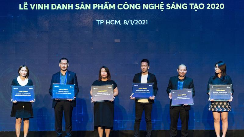 Vsmart được vinh danh là thương hiệu điện thoại Việt xuất sắc nhất tại Tech Awards 2020.