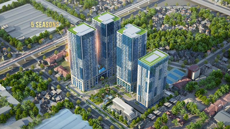 5 Seasons là sản phẩm căn hộ tiêu chuẩn khách sạn 5 sao thuộc tổ hợp TNR GoldSeasons số 47 Nguyễn Tuân, Hà Nội.