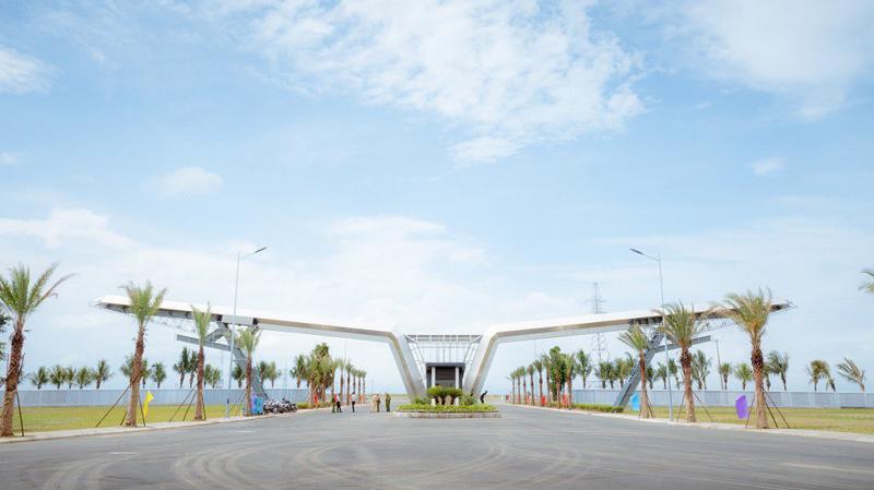 Nhà máy Vsmart sẽ được đầu tư xây dựng tại Tổ hợp sản xuất ô tô VinFast ở khu kinh tế Đình Vũ - Cát Hải (Hải Phòng) theo tiêu chuẩn quốc tế.