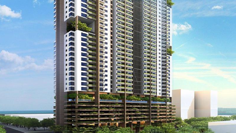 FLC Green Apartment nằm giữa trung tâm Mỹ Đình.