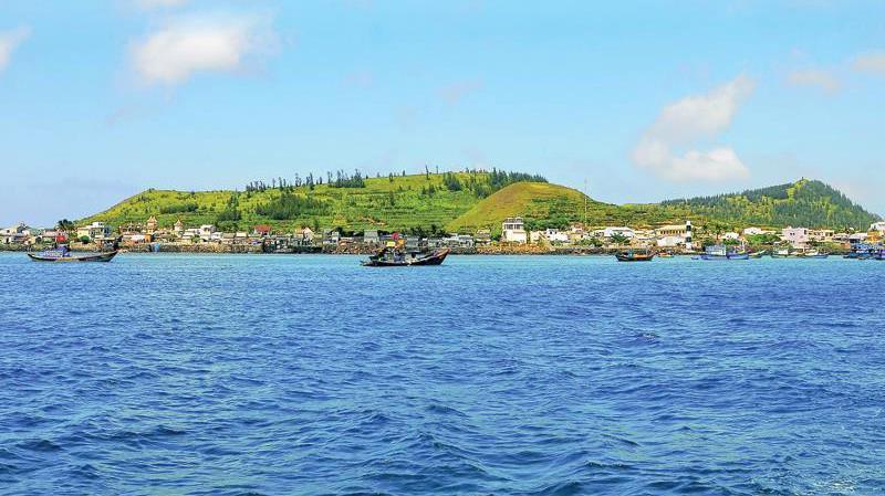 Đảo Lý Sơn - điểm đến thu hút của Quảng Ngãi.