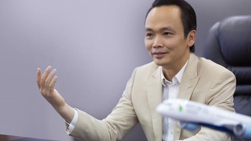 Ông Trịnh Văn Quyết, Chủ tịch Hội đồng quản trị Tập đoàn FLC.