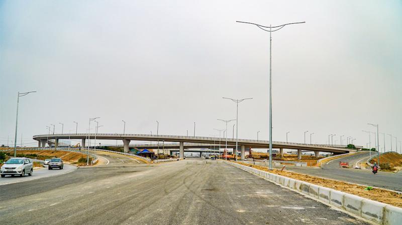 """Gia Lâm được đánh giá là khu vực có tốc độ """"thay da đổi thịt"""" nhanh bậc nhất Thủ đô nhờ những dự án hạ tầng trọng điểm như nút giao Cổ Linh."""