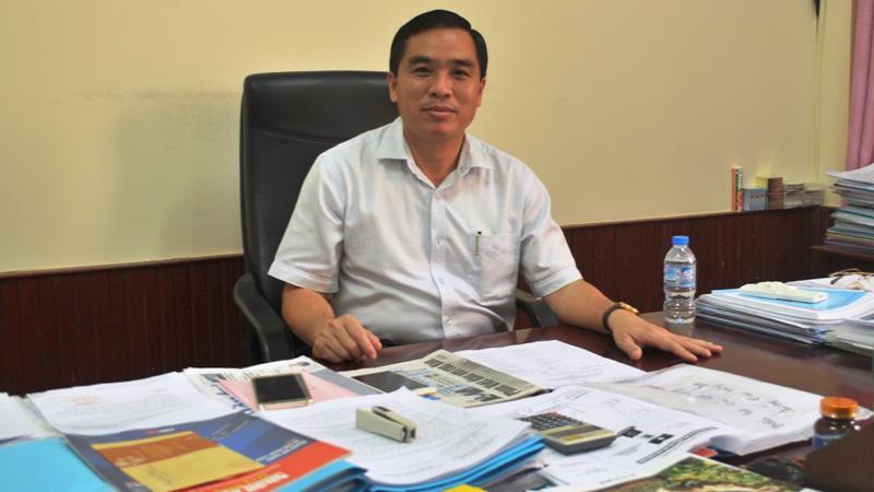 Ông Huỳnh Quang Hưng - Phó Chủ Tịch UBND huyện Phú Quốc.