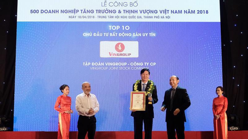 Mục tiêu của Vingroup là liên tục kiến tạo ra những sản phẩm bất động sản có chất lượng vượt trội, đem lại trải nghiệm sống theo tiêu chuẩn quốc tế cho khách hàng tại Việt Nam.