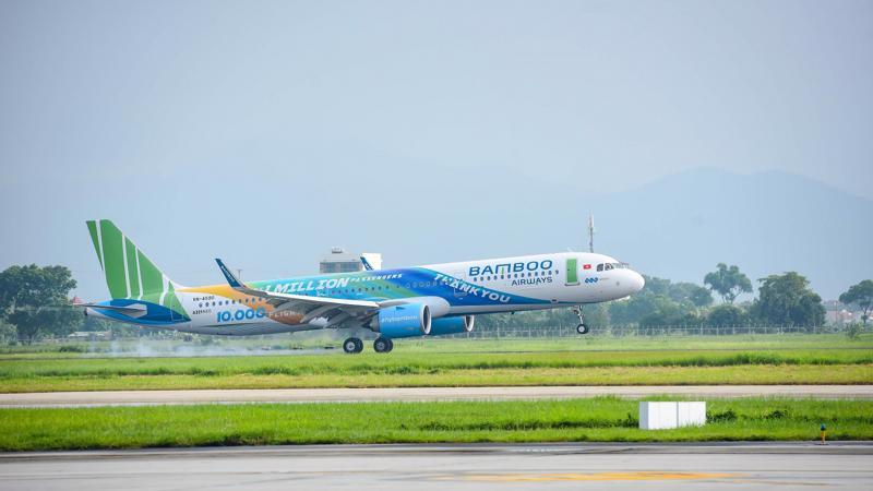 Bamboo Airways sẽ đón thêm 5 máy bay mới trong tháng 10/2019, dự kiến tăng quy mô đội bay lên 25 máy bay vào cuối năm nay.