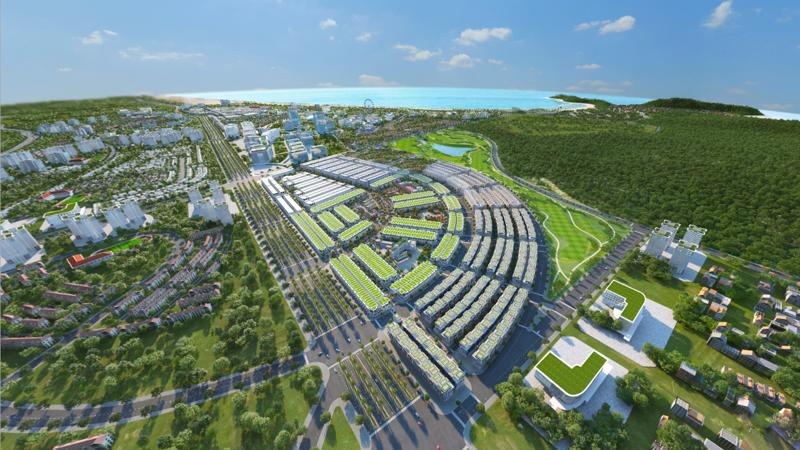 Điểm nhấn của Kỳ Co Gateway sở hữu vị trí đắc địa ngay trung tâm hành chính của khu kinh tế Nhơn Hội.