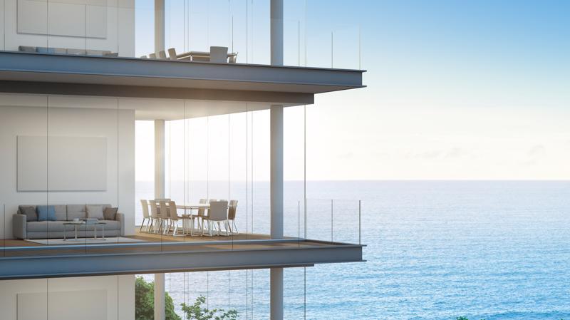 Lagoona Quang Binh Resort&Villas với tầm nhìn thu trọn đại dương xanh.
