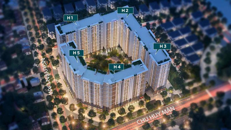 Hope Residences có diện tích 20.003m2 với quy mô 5 tòa nhà 21 tầng nổi, 2 tầng hầm liên thông giữa 5 tòa nhà và khu vực sân chơi chung, cung cấp ra thị trường 1.504 căn hộ.