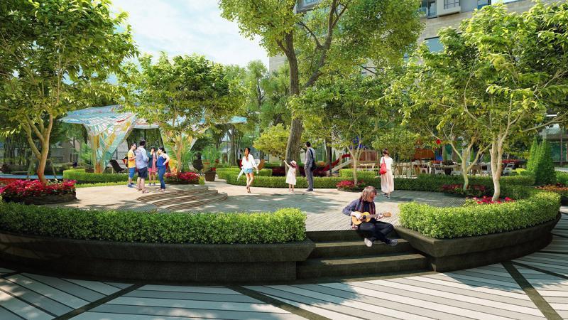 Dự án xây dựng hệ thống tiện ích miễn phí dành riêng cho cư dân sống tại dự án.