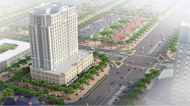 Eurowindow Nghệ An nằm ngay giữa ngã tư chợ Vinh tiếp giáp 3 tuyến phố chính, đây là vị trí đặc biệt và đắc địa nhất thành phố Vinh.